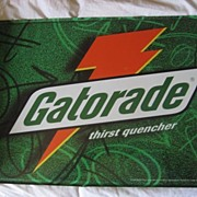 SALE Gatorade Flange Vintage Advertising Sign