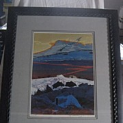 Baje Whitethorne Two Bears Signed Framed Artist's Proof