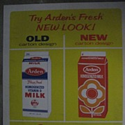 SALE Arden's Fresh New Look  Vintage Poster