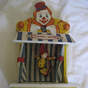 SALE Clown Puppet Show by San Francisco Music Box Co.