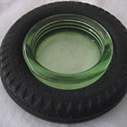 SALE Tire Ashtray Seiberling Special Service