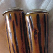 SALE Bakelite Vintage Clip Earrings