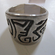 SALE Sterling Silver Vintage Ring