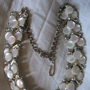 SALE Thermoset Link Necklace