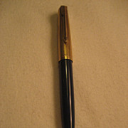 Parker 1/10 12K Gold Filled Pencil With Gem Top
