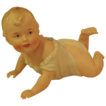 Gebruder Heubach Piano Baby Lying on Stomach #3101