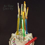 Dresden Hand Painted Cigarette Display - Thieme