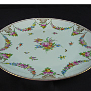 Hand Painted Dresden Platter - Lamm