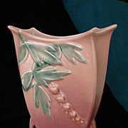 SALE Roseville Bleeding Heart Vase 970-9