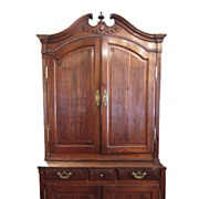 French Provincial Walnut Buffet du Corps
