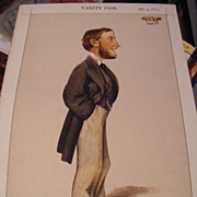 Set of 3 Vanity Fair Statesmen Prints from 1873