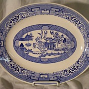 Blue Willow 1963 Homer Laughlin Platter