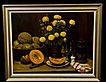 Large Still Life Oil by Listed OH/CA Artist Robert J. Smith