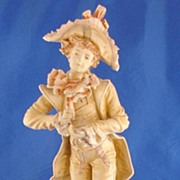 Vint. Bavarian Figurine Arno Apel Baroque Man Perfect!
