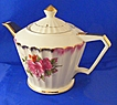 Delightful Japan Rose Teapot with Gold Trim