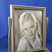 Large Deco Vintage Gilded Wood Swing Frame 30�s Jean Muir