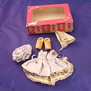 Boxed Vintage Ginny Dutch Girl outfit