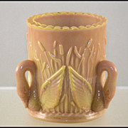 Late Swan Toothpick Holder Circa 1895-1910