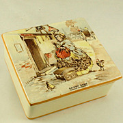 New Hall Hanley Staffordshire Cigarette Box