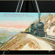 Scene Near Phantom Bridge, CO &quot;The Moffat Road&quot; Acmegraph Card