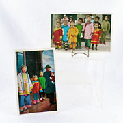 A Chinese Family and Chinese Sunday School Children Post Cards