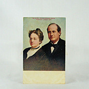William Jennings Bryan Vintage 1908 Political Post Card