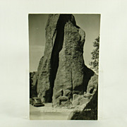 Real Photo Post Card RPPC of Needles Highway South Dakota 1940's