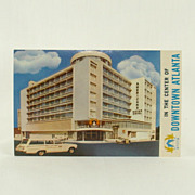 Stein Craftsman Post Card of Americana Motor Hotel Atlanta