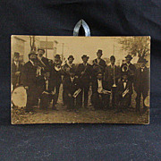 Real Photo Post Card of Early 20th Century Musicians