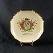 Royal Winton Queen Elizabeth II Coronation Dish