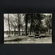 RPPC of Babcock Park in Elk River Minnesota Circa 1949