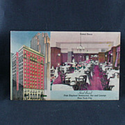 Hotel Bristol New York City Pink Elephant Restaurant