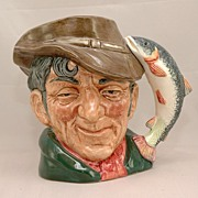 SALE Royal Doulton Toby Jug The Poacher D6429 321/54