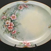 SALE Epiag Royal Platter Made in Czechoslovakia Veragold 18K