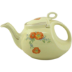 Hall China Orange Poppy Streamlined Tea Pot