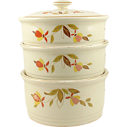 Hall's Autumn Leaf Four Piece Stack Set
