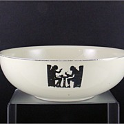 Hall Silhouette Nine Inch Salad Bowl