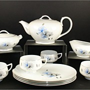 Hakusan China Starburst and Pinecone Set #9613