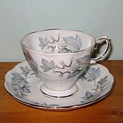 Royal Albert - Silver Maple - Fancy Teacup Set