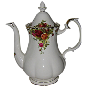 SALE Royal Albert - Old Country Roses - Large Coffee Pot