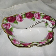SALE Royal Albert - Old English Rose - Leaf Dish