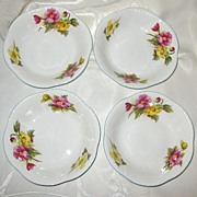 Shelley - Begonia - Fruit Bowls (4)