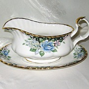 SALE Royal Albert - Sonatina - Gravy Boat & Tray