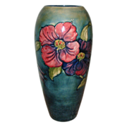 W. Moorcroft - Clematis Vase -12.5&quot;