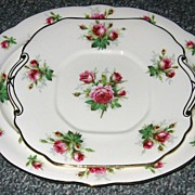 Hammersley - Grandmother's Rose - Platter & Cake Tray