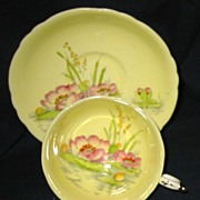 SALE Paragon - Water Lilies on Yellow - Teacup Set