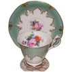 Paragon - Florals on Green - Teacup Set