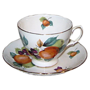 Royal Vale - Fruits on White - Teacup Set