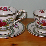Paragon - Tree of Kashmir - Teacup Sets (2)