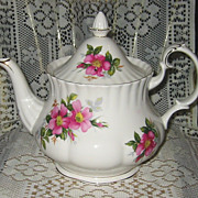 Royal Albert - Prairie Rose - Large Teapot